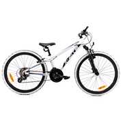 "Mountainbike 24"" 24.21 21-gear hvid/sort"