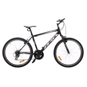 "Mountainbike 26"" 1221 21-gear 46cm sort"