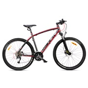 "Mountainbike 650B 27,5"" 27-gear sort/grå"