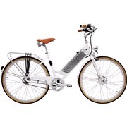 El-cykel Benelli Classica Hvid 8-speed