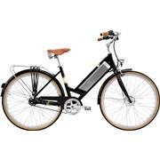 El-cykel Benelli Classica sort 8-speed