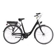 """El-cykel DAME 28"""" 51cm sort metal 3 gear"""