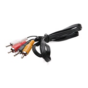 Audio/Video kabel 3,5 Jack til 3xphono
