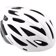 Cykelhjelm In-mould mat hvid M 56-58