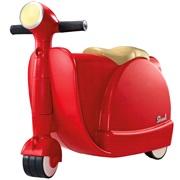 Barnekuffert/løbescooter Skoot, rød
