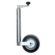 Næsehjul med fast gummihjul Ø48mm