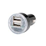 USB udtag MINI 12V - 2 x USB 1A+2,1A 5V
