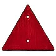 Trekantrefleks rød 150 mm med tape