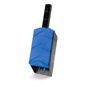 Strøskovl, 95x290x65mm, blå