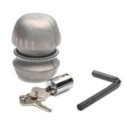 Træklås kuglemodel m. 2 nøgler