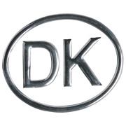 DK skilt 3D