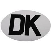 DK skilt ovalt