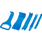 Aftrækkersæt 5 stk. plastik til clips mm