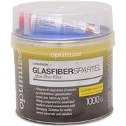 Glasfiber spartel 1000 g OPTIMIZE