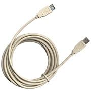 USB Kabel A/A han/hun stik, 3 M