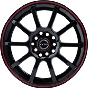Black Strike 7,5x17 5x108/112 ET30 Ø67,1