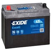 Bilbatteri 54524 - Exide EB455 - 45 Ah