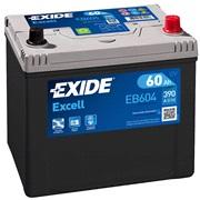 Bilbatteri 56068 - Exide EB604 - 60 Ah