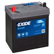 Bilbatteri 53522 - Exide EB357 - 35 Ah