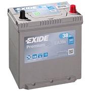Bilbatteri - Exide Premium EA386 - 38 Ah