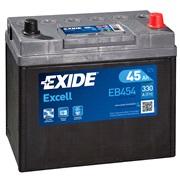 Bilbatteri 54523 - Exide EB454 - 45 Ah