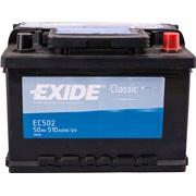 Bilbatteri - Exide EC542 - 54 Ah