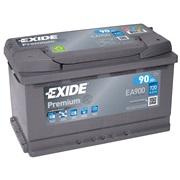 Bilbatteri - Exide EA900 - 90 Ah
