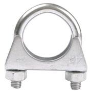 Udstødningsclamp 42 mm