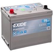 Bilbatteri - Exide Premium EA755 - 75 Ah
