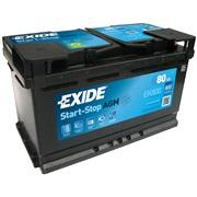 Batteri EK800 - Exide MicroHybrid - 80Ah