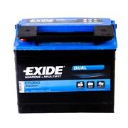 Batteri Exide ER350 80Ah Dual Multifit