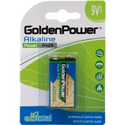 Alkaline batteri 9V 6LR61 1-pak Tecxus