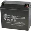 Lukket blybatteri, 12V 17AH