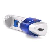 Mobilholder med blå LED