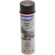 Spraylak, sort mat, 500 ml