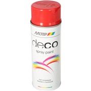 Spraylak, postrød, 400 ml syntetisk